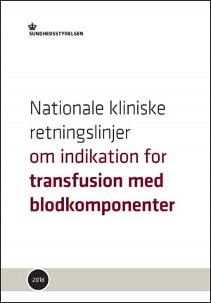 NKR: Indikation for transfusion med blodkomponenter