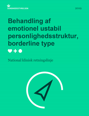 NKR: behandling af emotionel ustabil personlighedsstruktur, borderline type