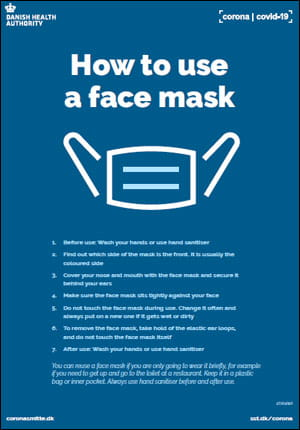 How to use a face mask