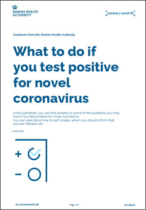 What to do if you test positive for novel coronavirus